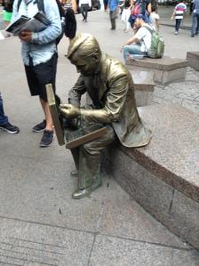 Statue near Ground Zero