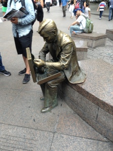 Statue near Ground Zero